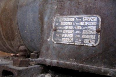 La cloche de FA pèse 900 kg