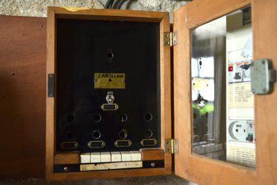 Clavier mécanique du carillon