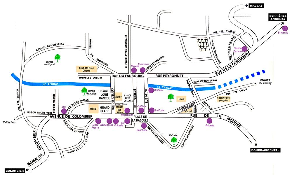 Plan de St-Julien